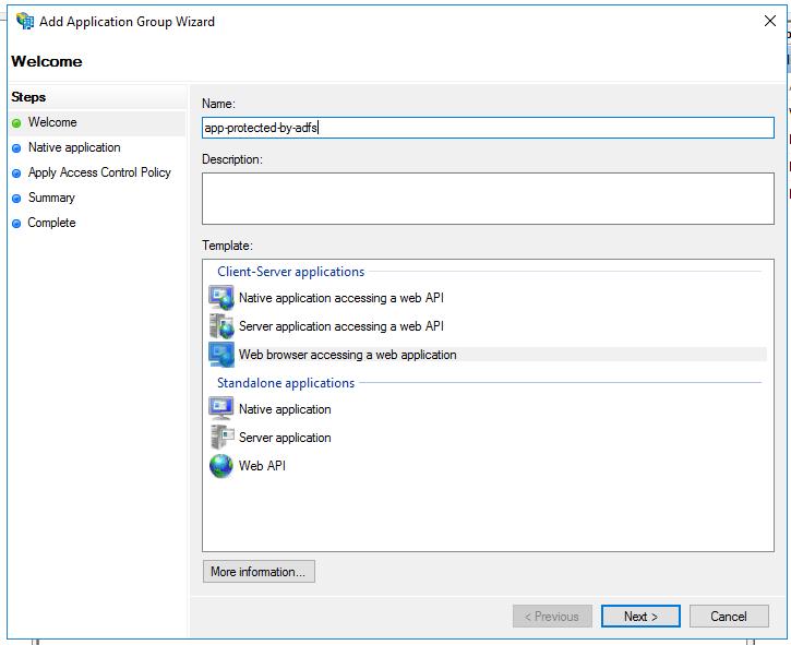 Setup ADFS to secure Web API and access it through Angular